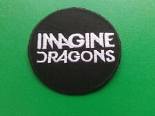 PUNK ROCK HEAVY METAL MUSIC SEW / IRON ON PATCH:- IMAGINE DRAGONS (a)