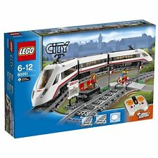 Lego City Town 60051 High Speed Passager Train Infrared Remote Motor Tracks NISB