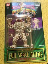 MIGHTY MORPHIN POWER RANGERS EVIL SPACE ALIENS EYE POPPING EYE GUY ON CARD BANDA