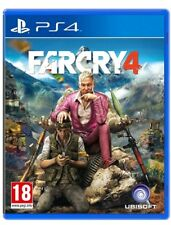 FAR CRY 4 PS4 GIOCO PLAYSTATION 4 VIDEOGIOCO ITALIANO SIGILLATO PROMO FARCRY
