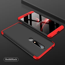 360° Full Cover Hard Hybrid Case Shockproof Protection For Nokia 7 Plus/6 2018