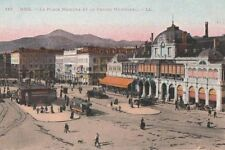 Carte Postale ancienne Nice- Place Masséna & Casino Municipal (Alpes-Maritimes)