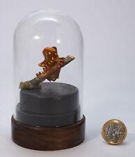 """Miniaturskulptur aus Buchsbaumholz """"Frosch auf Ast"""""""