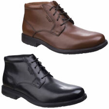 Rockport Leather Upper Waterproof Boots for Men