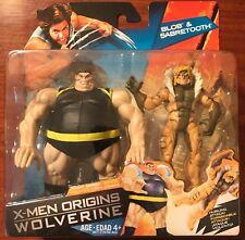 "Marvel Universe X-Men Origins Wolverine Blob Sabretooth 3.75"" Action Figure New"