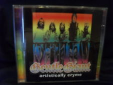 Gentle Giant – Artistically Cryme   -2CDs