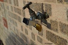 Tap Lock really secures garden and outdoor taps quick, easy. Strong solid metal.