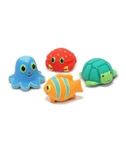 Melissa & Doug Seaside Sidekicks Squirters Water Toys One Size Multi NEW