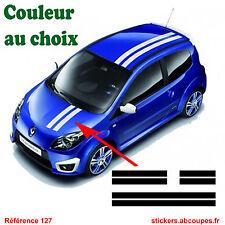 Bandes pour Twingo - Stickers autocollants Style twingo Gordini - 127