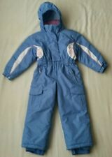one piece ski snow suit,expensive,FERA,waterproof,insulated,powder blue,girls 4T