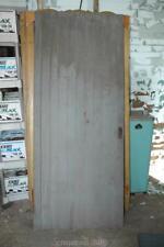 """Antique Vintage Solid Wood Z-Brace Door 84-3/8x34.75"""""""
