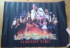 Lord of the Dance Dangerous Games theatre poster Michael Flatley