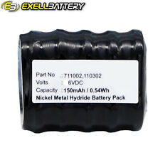 6V 150mAh Replacement Battery For BAXTER 100DKO 8426 UGLY 8 BIOHIT ePET Proline