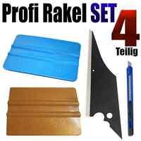 Profi Rakel   4-teilig,  perfekt Scheiben Tönen - Rakel  Set - Folierung