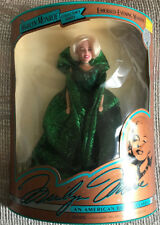Marilyn Monroe Emerald Evening Gown Doll New In Box