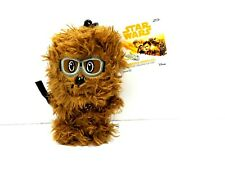 Star Wars Mini Heroez Clipz Chewbacca 4.5 inch Plush With Goggles New