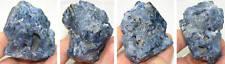 130g or 4 5/8 oz Vietnam Natural Rare Raw Blue Octahedron Spinel Crystal Cluster