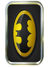 Batman 1oz Gold Tobacco Tin, Pill Tin, Stash Can, Pocket Tin,Bait Tin. Hero.