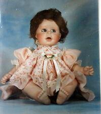 Doll Emporium Cynthia James design doll dress pattern Daisy Petal Pumpkin Seed