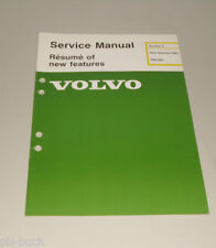 Service Manual Volvo 340 / 360 New Features 1985 Stand 08/1984