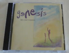 GENESIS, WE CAN'T DANCE,  CD  in very good condition.