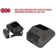 DSK-GP300 CARICABATTERIE VELOCE DA TAVOLO COMPATIBILE MOTOROLA GP-300, P110
