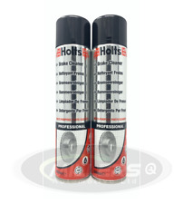2X Holts Professional Brake Cleaner Degreaser Dirt Grime Solvent Spray Can 600ml