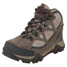 Chaussures gris à lacets en daim pour garçon de 2 à 16 ans