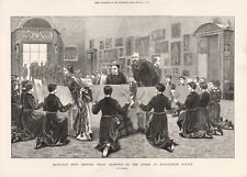 Christ's Hospital Bluecoat School Boys at Buckingham Palace Queen Victoria 1873
