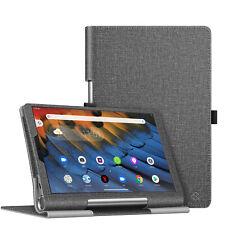 For Lenovo Yoga Smart Tab 10.1 (YT-X705F) Folio Case Smart Stand Auto Sleep/Wake