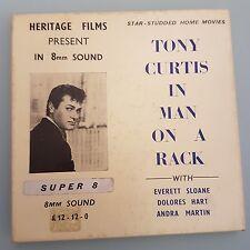 Super 8 película Hombre en un rack Tony Curtis Sonido (a4)
