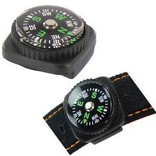 Highlander Watch Strap Compass Survival Orienteering Walking Mini Emergency