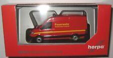 """Herpa 093477 VW Crafter Kasten Hochdach """"feuerwehr"""" D12"""