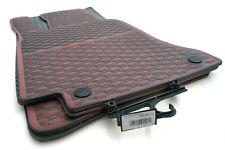 #Premium Gummimatten Mercedes C-Klasse W205 AMG Original Qualität Fußmatte rot