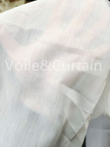 Lucy Voile Fabric ,Top quality White Cotton Look Muslin 150cm wide Wedding craft