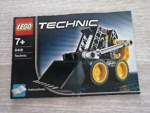 Lego technic Notice 8418