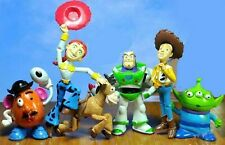 6 pcs TOY STORY 3 BUZZ LIGHTYEAR WOODY Figures SET Gift