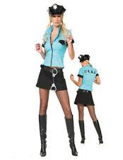 Poliziotta sexy travestimento sexy donna carnevale sexy travestimenti + collant