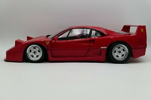 Vintage Pocher 1987 Ferrari F40 1/8 Scale K55 Model Kit Car 1:8 by Rivarossi