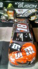 2008 Kyle Busch Autographed #18 M & M's Halloween 1/24