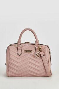Marikai Quilted Barrel Bag Pink