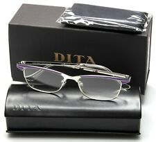 7cc75f1f924 NEW DITA AVALON DRX-3008C-51 SILVER PURPLE EYEGLASSES GLASSES 51-16-