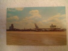 UNITED AIRLINES BOEING 720 POSTCARD, AT CLEVELAND HOPKINS AIRPORT