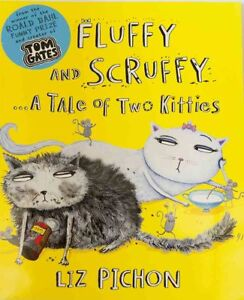 Fluffy and Scruffy A Tale of Two Kitties Prize Winner 2 + RED NED Free Post