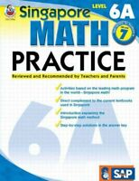 Singapore Math Practice : Level 6a, Paperback, Brand New, Free shipping in th...