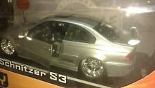 Jada AC Schnitzer BMW M3 1:18 Diecast Car silver brand new in damaged box