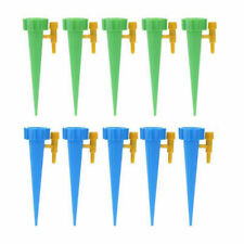 Us 10pcs Watering Auto Drip Irrigation System Spike Garden Plants Automatic Tool