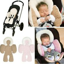 Baby Car Seat Mat Safety Soft Stroller Cushion Pad With Pillow Infant Chair Mat