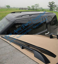 For 2005-2014 2015 2016 Land Rover Discovery 3 & 4 Extended Roof Rails (Black )