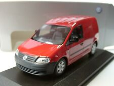 Minichamps VW CADDY 2005, rot - dealer model - 1:43
